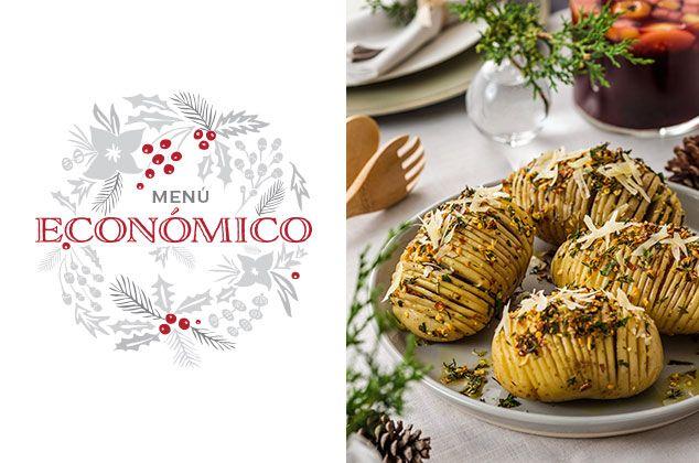 menu para cena de navidad economico