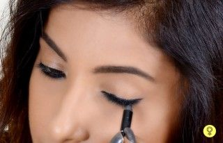 How To Apply Kajal On Eyes Perfectly Step By Step Tutorial In