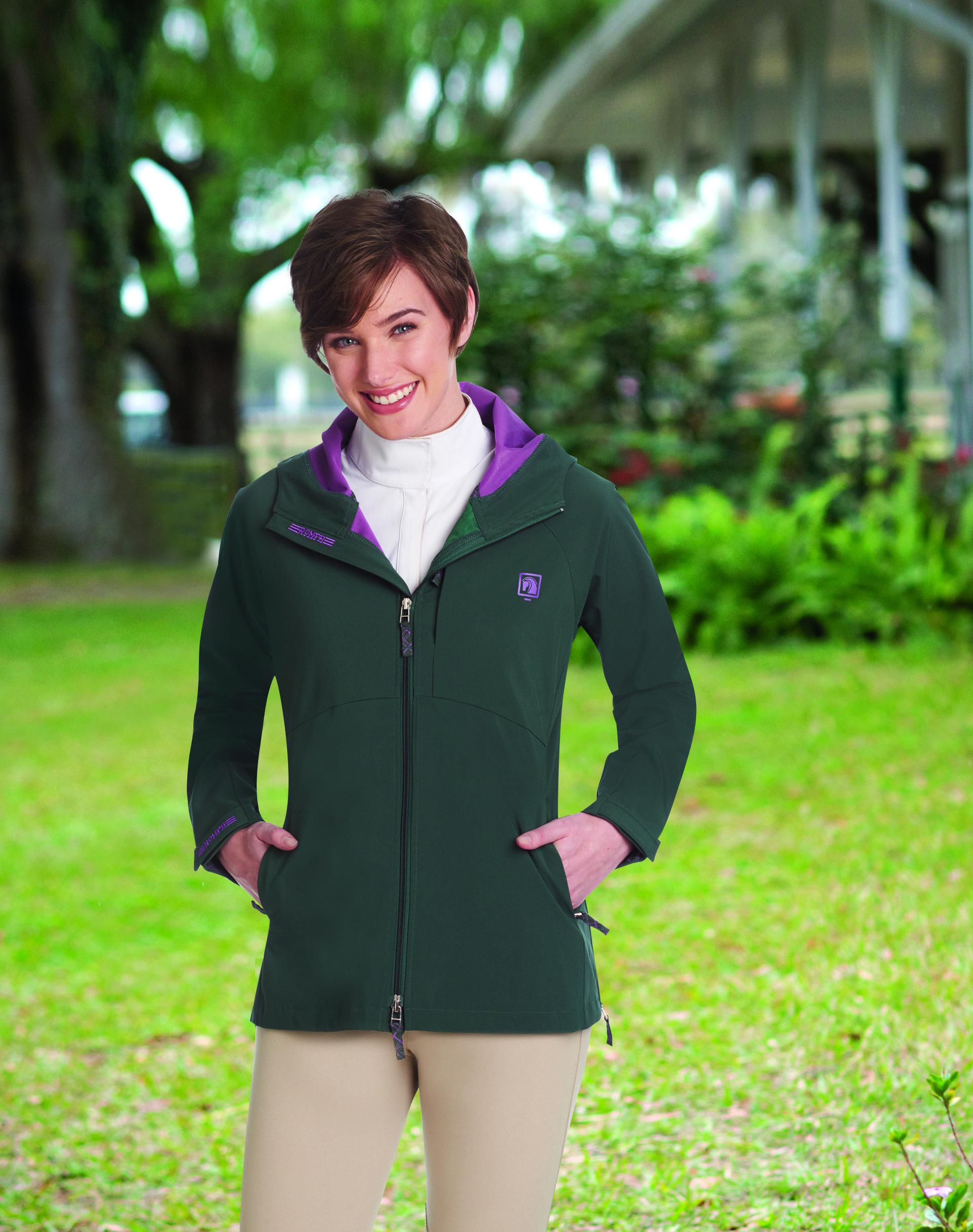 Romfh Cool Dry Rain Rider Jacket Riders Jacket Jackets For Women Mens Raincoat [ 2434 x 1922 Pixel ]