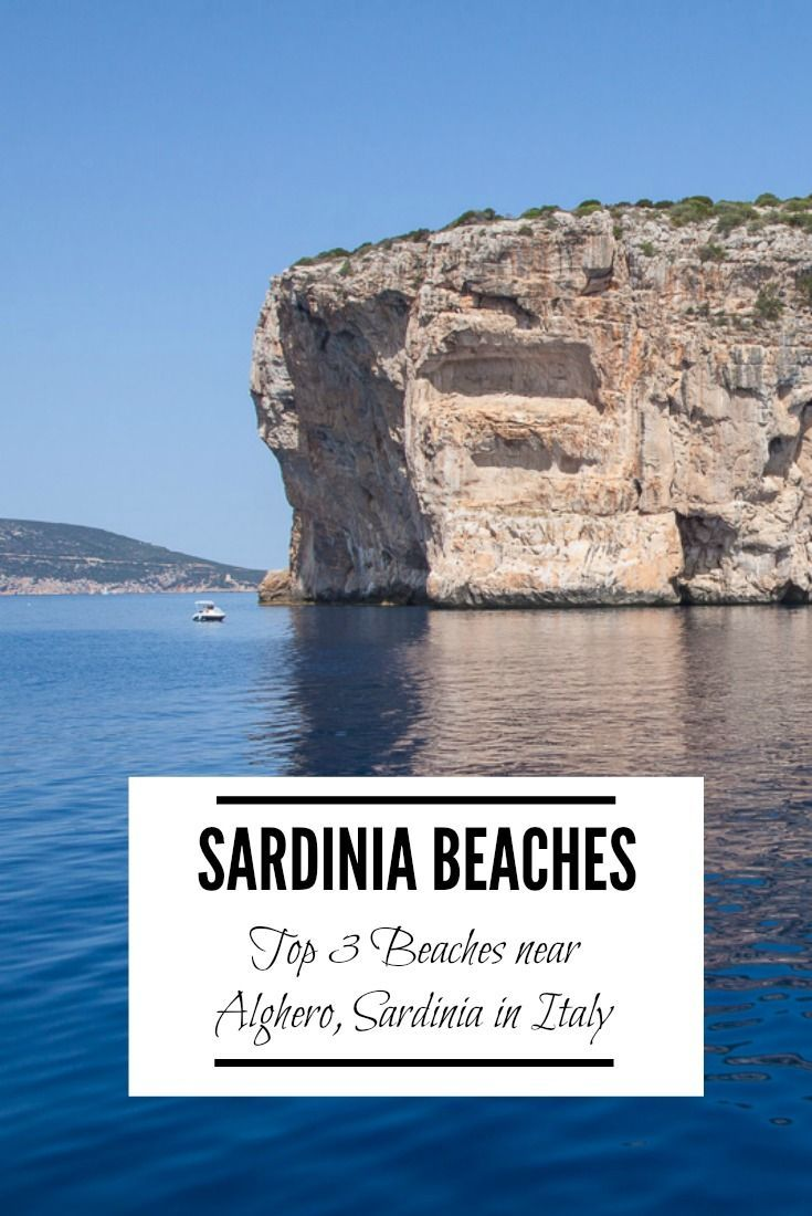 One Of The Many Attractions To Island Sardinia Off Coast Italy Was Stunning Beaches Check Out These Top 3 Near Alghero