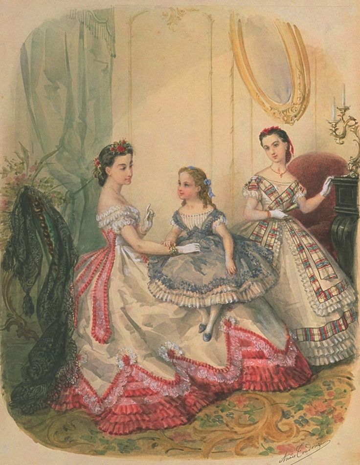 Women in the Victorian era #dressesfromthesouthernbelleera