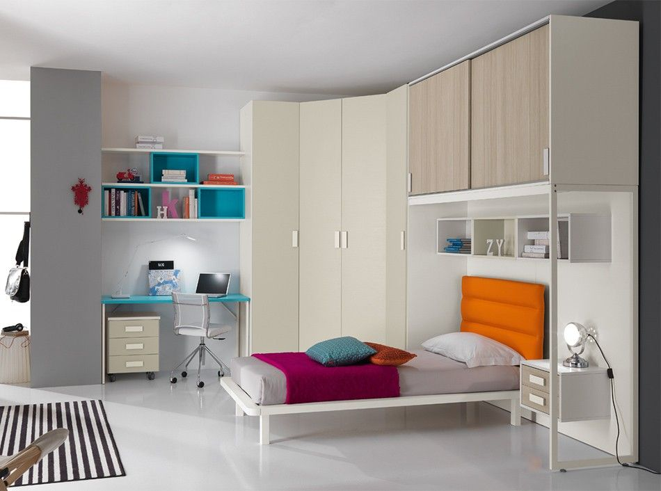 Spar Camerette A Ponte.Italian Kids Bedroom Set One 506 By Spar With Images Modern