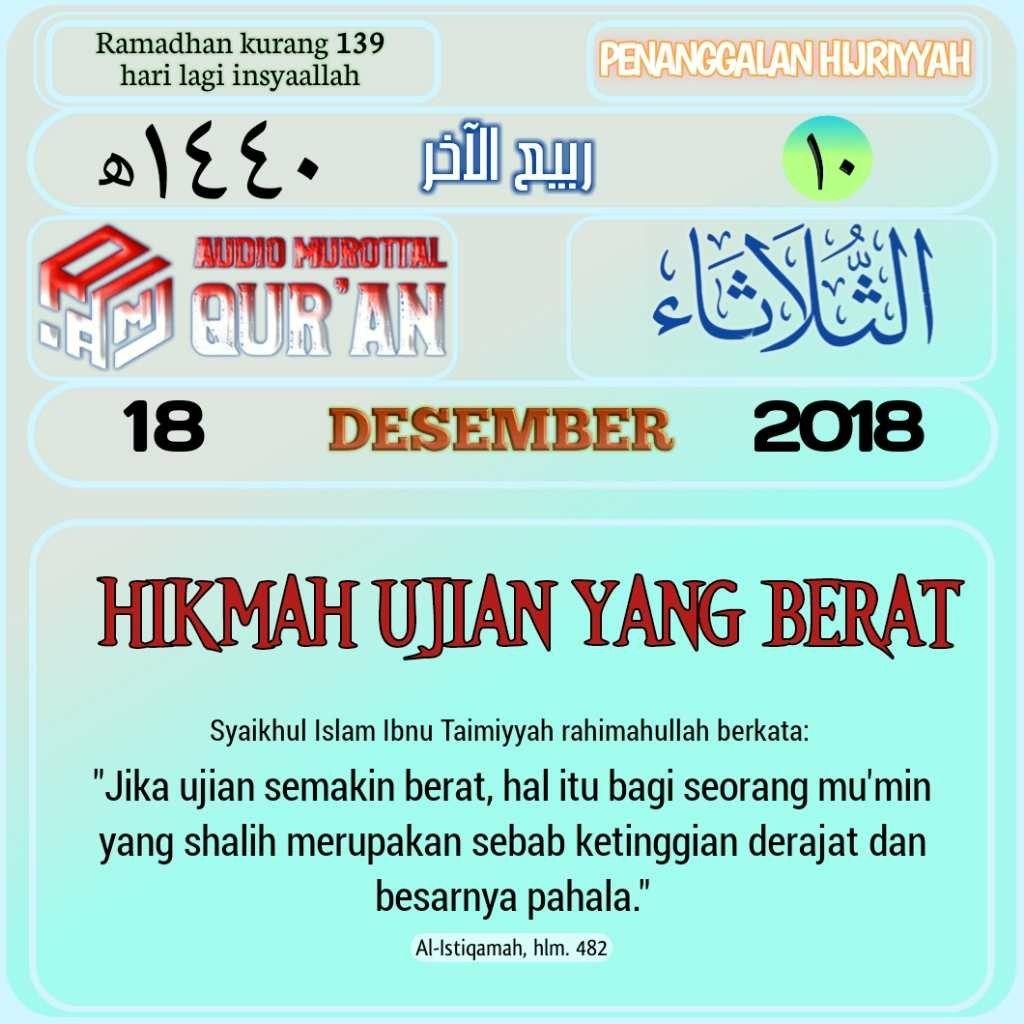 Pin oleh Arfiani Sweet di nasehat Qur'an, Islam