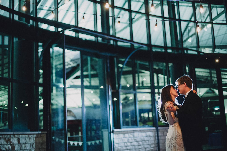 Wedding at Dicke Transportation Center // The Brauns