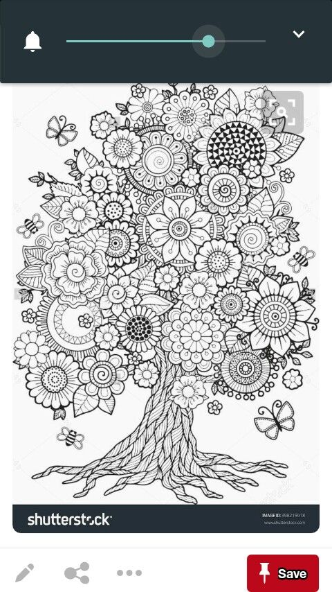 Pin by Jacki on Flowers Pinterest Flowers and Patterns - copy coloring pictures of flowers and trees