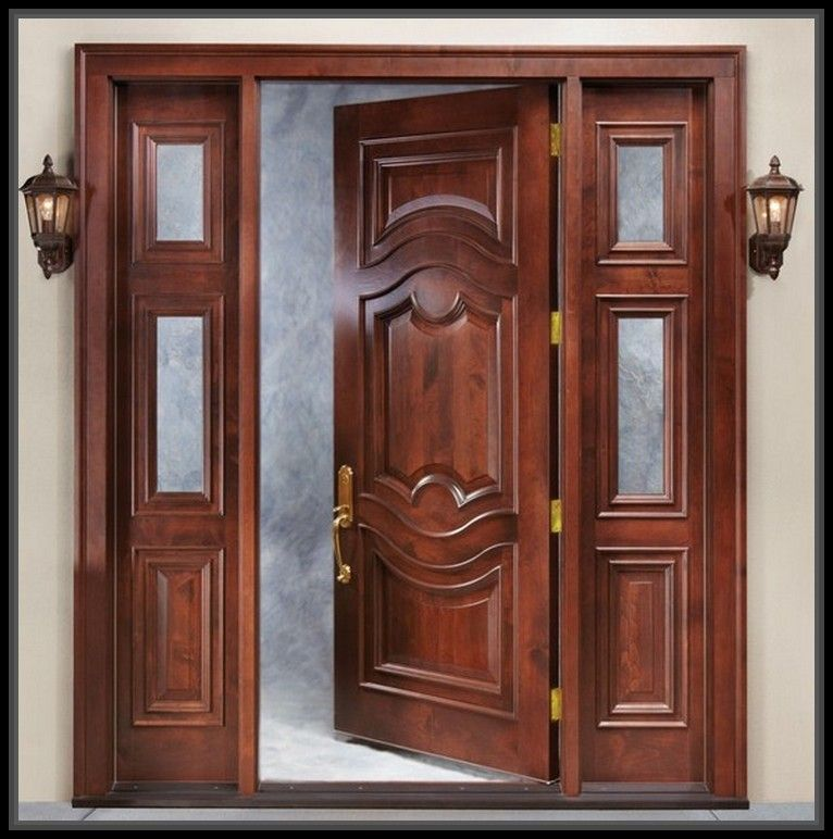 Trendy ash wood door designs home decor more design http for Big main door designs