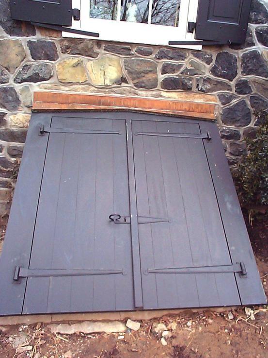Wood Bulkhead Door Google Search Bulkhead Doors Bilco Doors Basement Entrance
