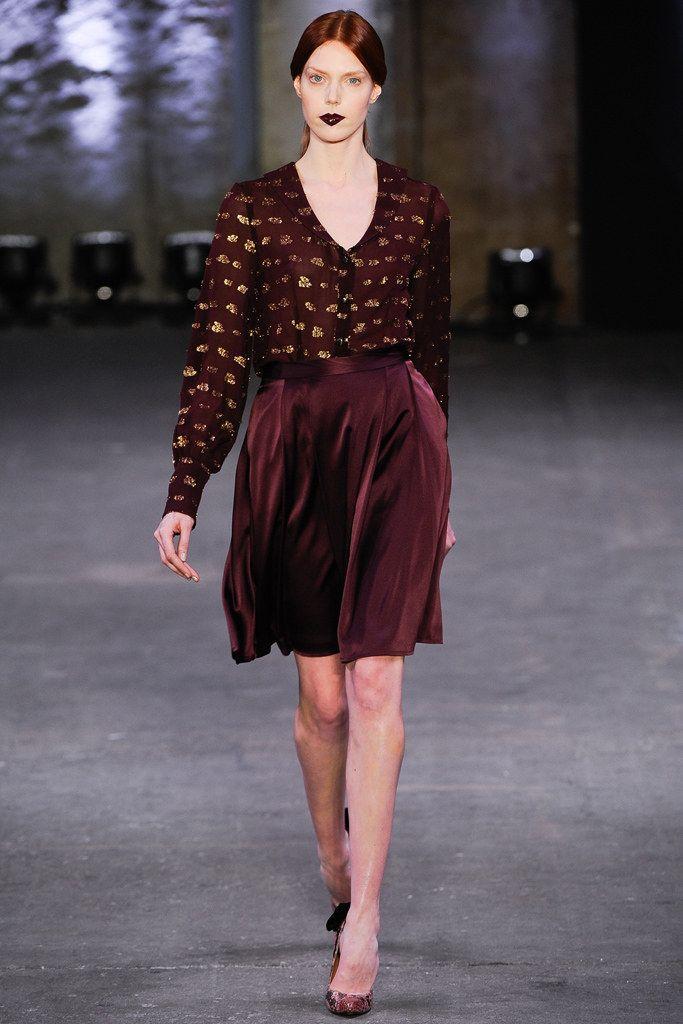 Christian Siriano Fall 2012 Ready-to-Wear Fashion Show