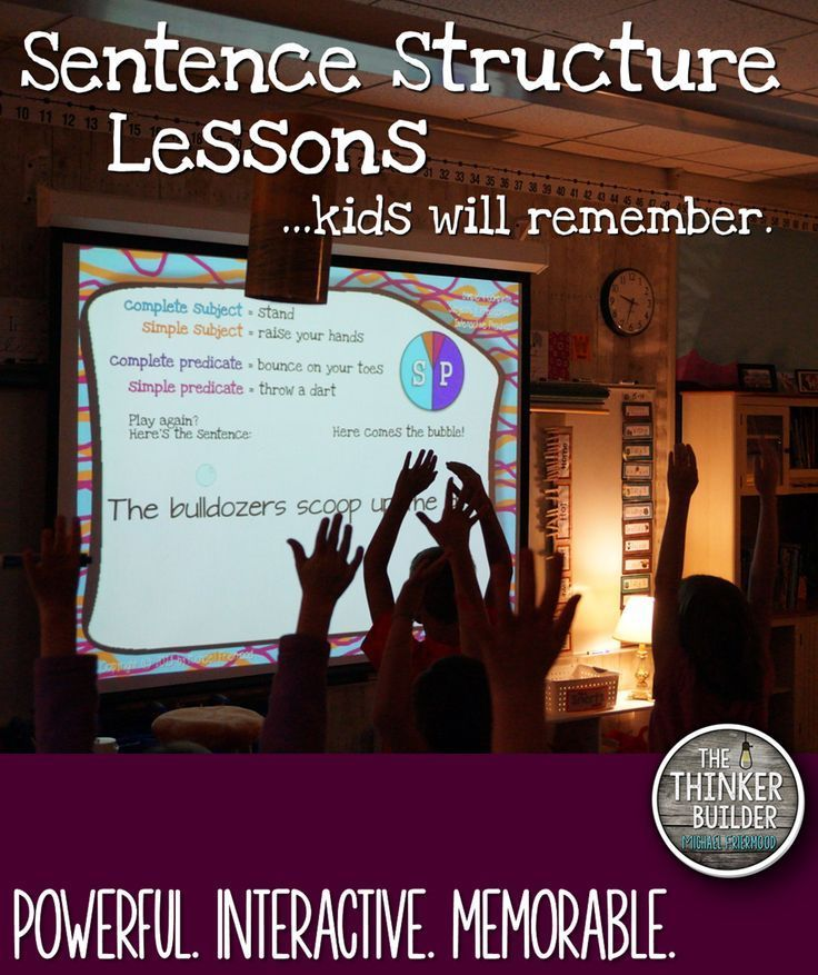 Powerpoint Lesson Bundle On Subjects Predicates Subject Verb