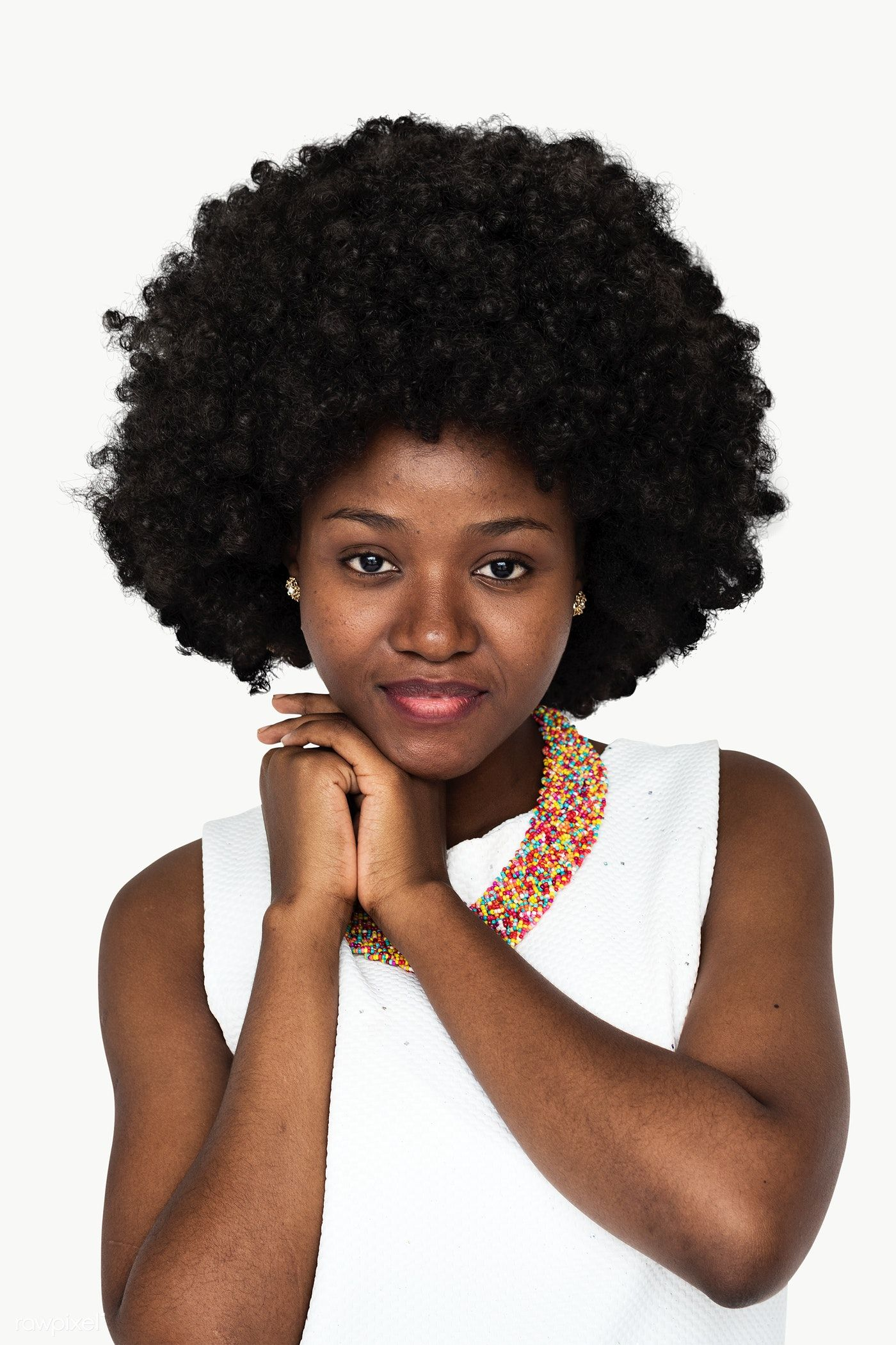 Download Premium Png Of Young Black Woman Transparent Png 1232545 Black Women Young Black Short Brown Hair