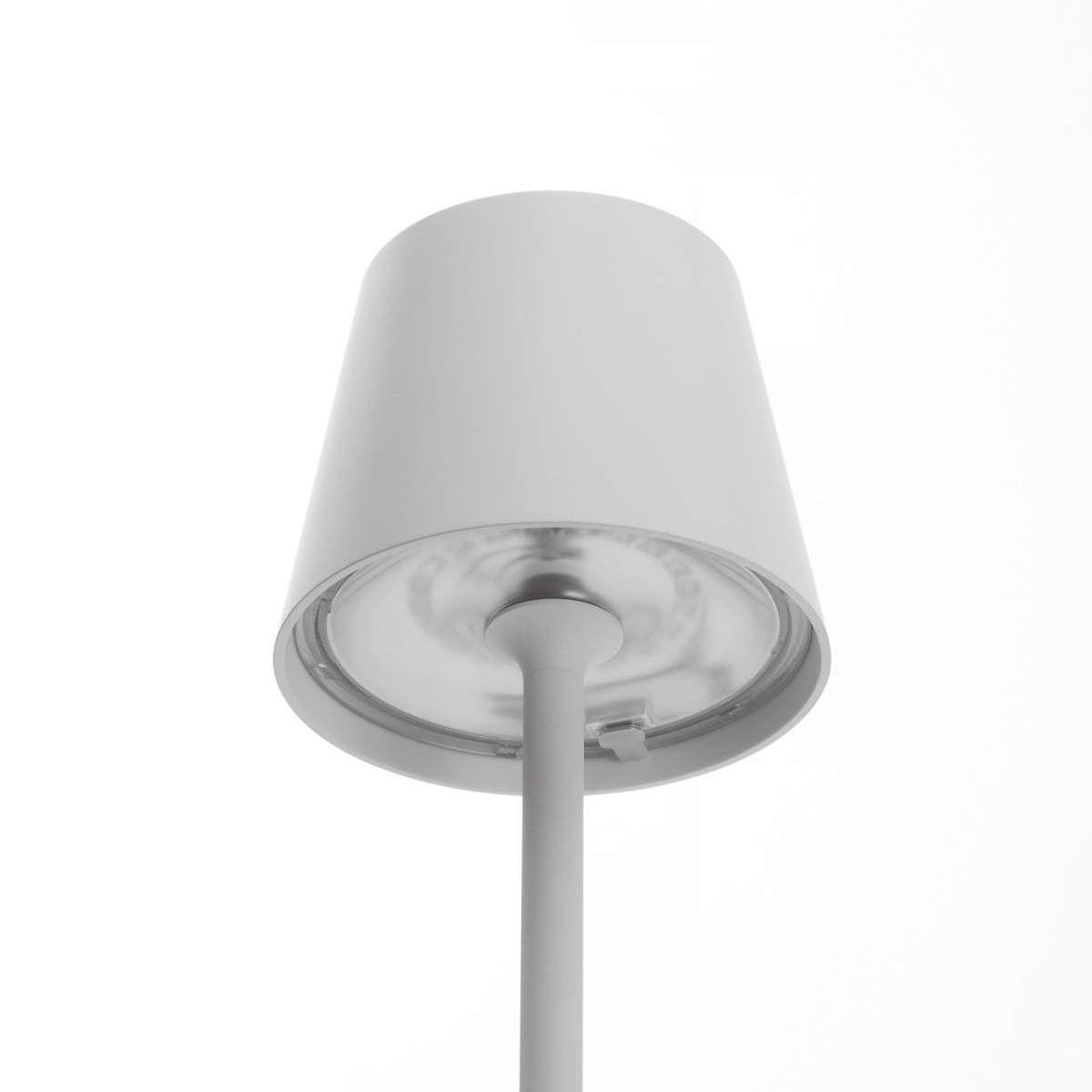 Moderne Erdspiessleuchte Poldina Von Ailati Weiss Led Tischlampe Led Hangeleuchte Und Led Lampe