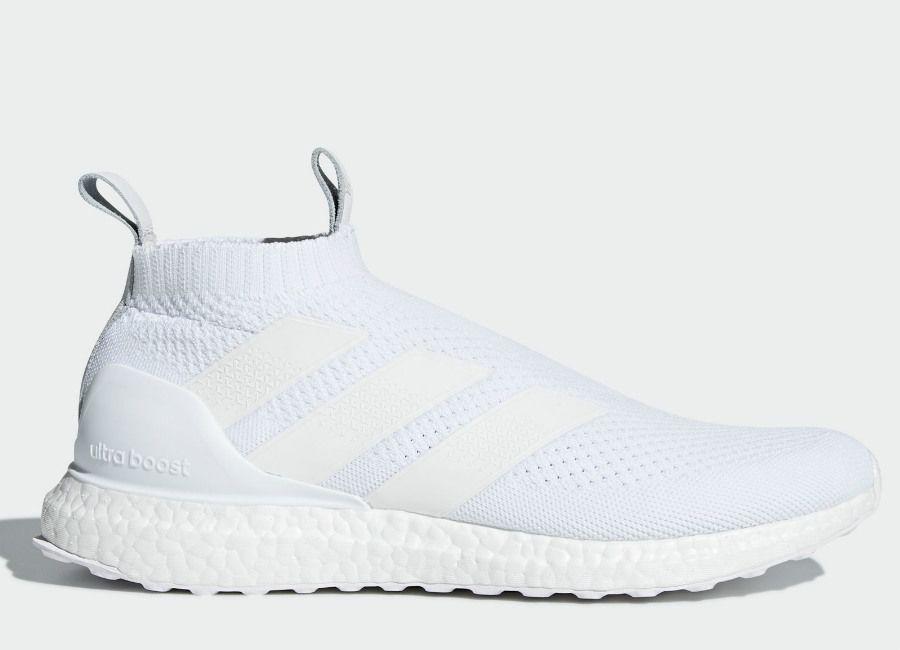 e7e1f3942fe  football  soccer  futbol  adidasfootball Adidas A 16+ Ultraboost Shoes -  Ftwr White   Ftwr White   Ftwr White