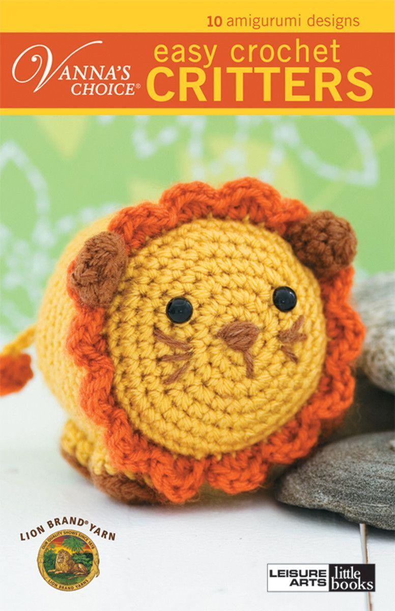 Vanna\'s Choice Easy Crochet Critters