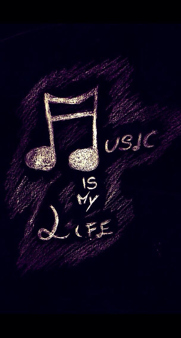 Music Is My Life Music Wallpaper Iphone Wallpaper Music Music Images