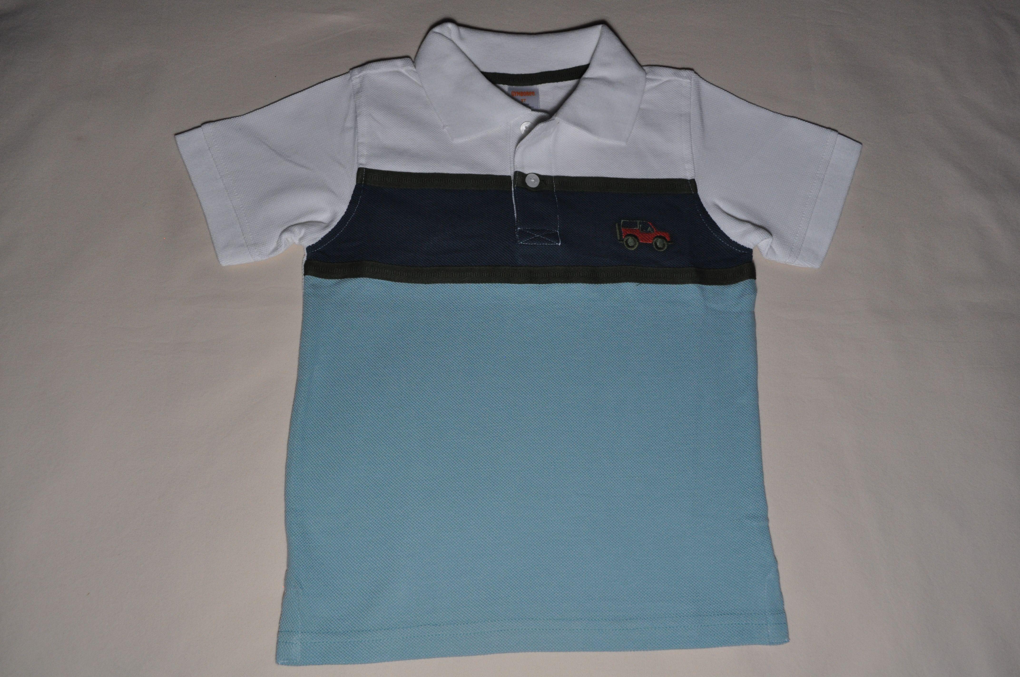 NWT Gymboree Boys Polo Collar Top Shirt TShirt NEW Cotton BBoy