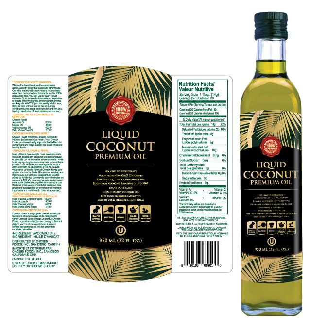 Liquid Coconut Oil Label Template HttpWwwDlayoutsComTemplate