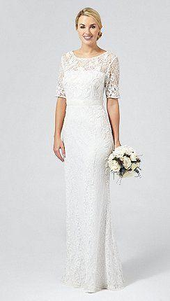 Debut Ivory Paloma Lace And Beaded Wedding Dress Http Www Weddingheart Co Uk Debenhams Wedding Dresses Ht Debenhams Wedding Dress Wedding Dresses Dresses