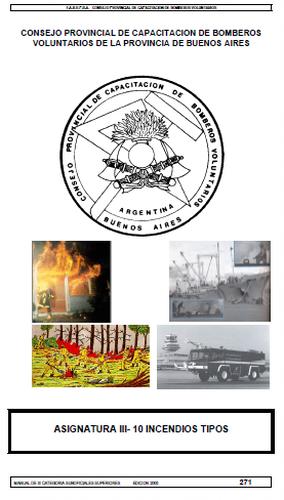 Incendios estructurales