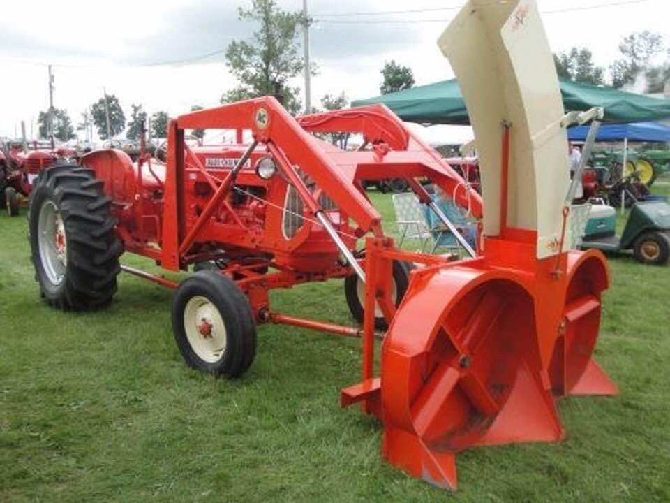 Allis-Chalmers snow blower  | Farming | Tractor accessories