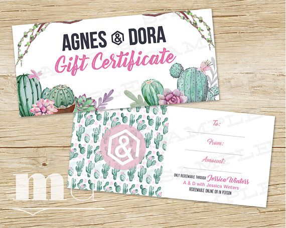 gift certificates small business
