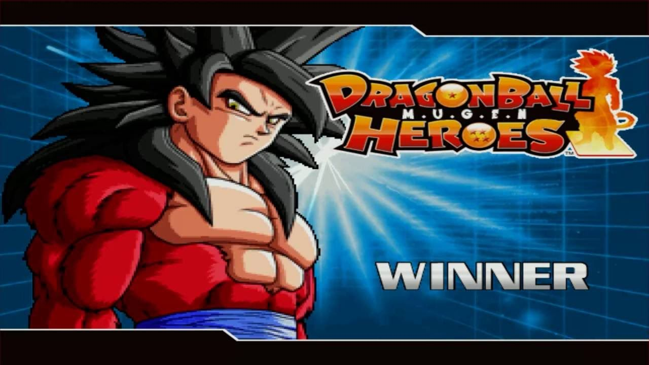 Dragon Ball Heroes Mugen En Espanol Goku Ssj4 Vs Goku Ssj Dios Dragon Ball Dragon Hero