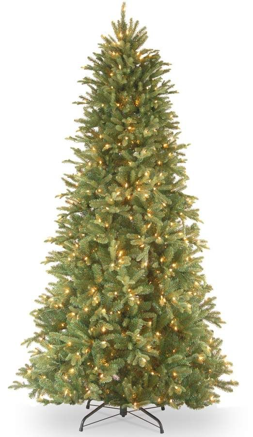 f9eadc96b 7.5-ft. Pre-Lit   Feel-Real   Tiffany Fir Artificial Christmas Tree  Lit  Feel Pre