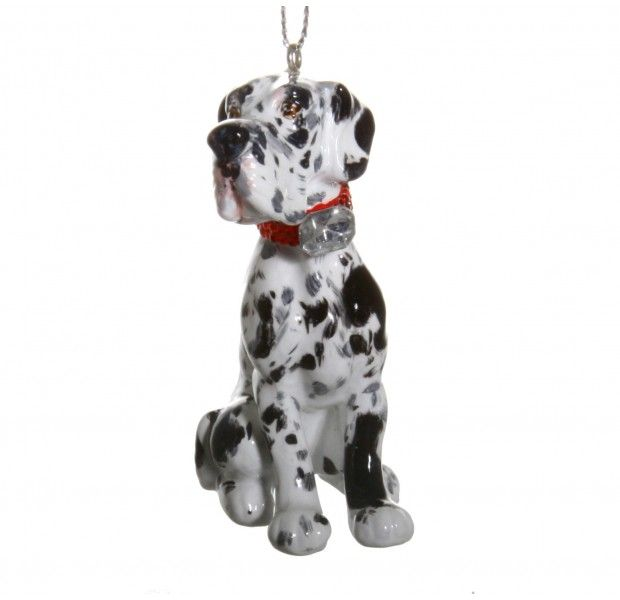 Great Dane Ornaments Ornaments 3d Dog Picture Holders