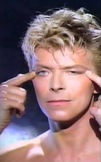 David Bowie from Chine Girl video 80s.