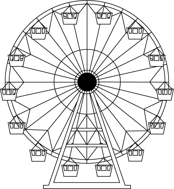Project 1 Women S Wear Farris Wheel Drawings Ferris Wheel