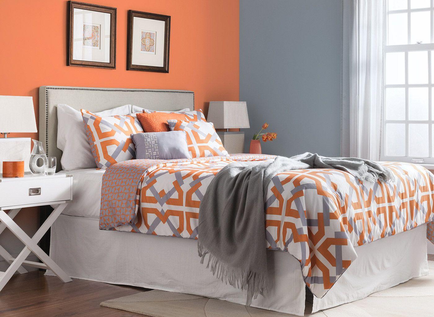 Image result for bedroom colours | Green master bedroom ...