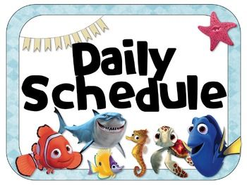 Image result for disney daily schedule