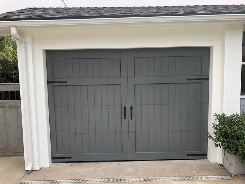 Solid Wooden Garage Door Get Custom Design Or Size Etsy Wooden Garage Doors Garage Door Styles Garage Door Design