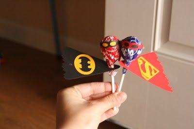 Superhero Baby Shower Decorations