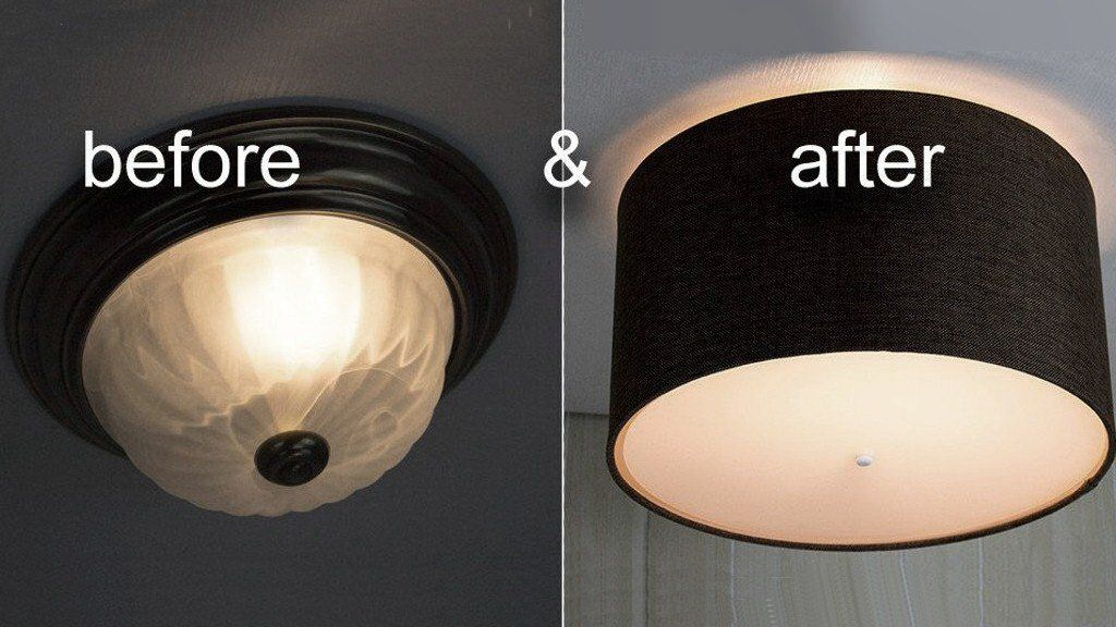 How To Install Modern Ceiling Light Cover Conversion Kits Ceiling Light Covers Ceiling Fan Light Cover Ceiling Lights