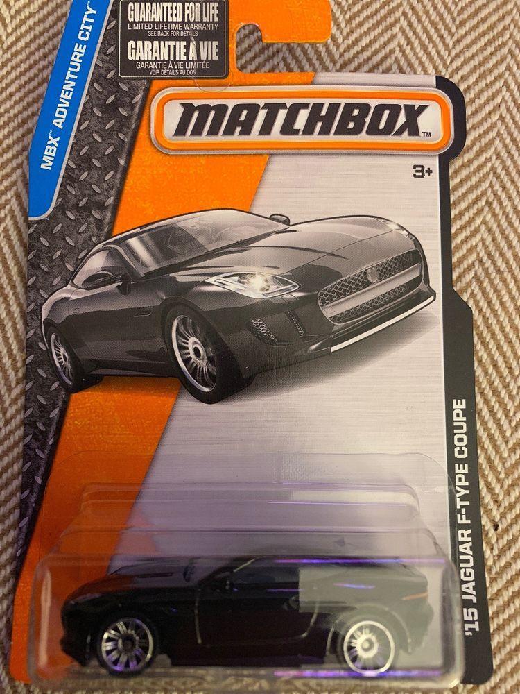 Matchbox 2014 Jaguar F Type Coupe Black Car Mbx Adventure City Ebay Jaguar F Type Matchbox Black Car