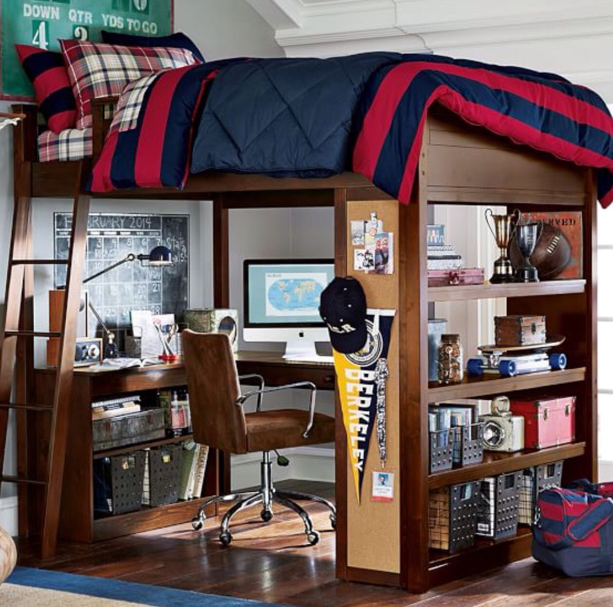 Loft bed with desk near me  This would be the perfect set up for me All my books my desk Itud