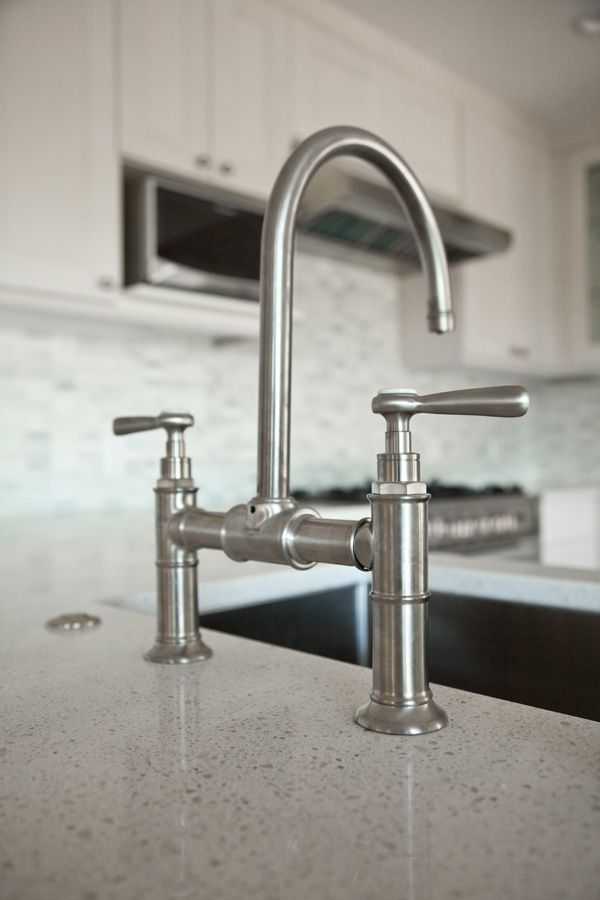 ReLocatedLiving_Kitchen_13 bridge faucet from the Hansgrohe Axor ...