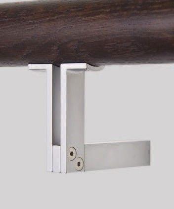 Comes In Black Also   HB550 Stair Rail / Handrail Bracket From Halliday  Baillie   HandB2012