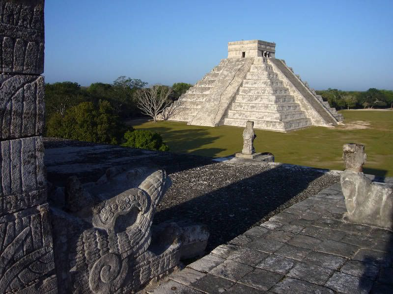 Chichen Itza. MUST visit while in Cancun!