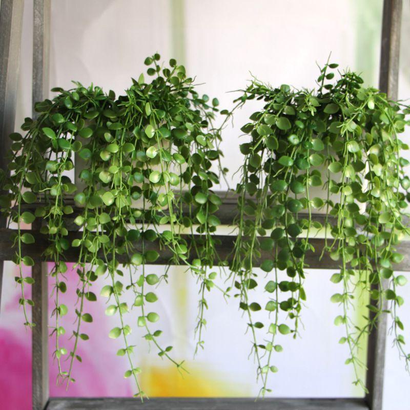 Draping Small Leaf Vine Plantas Artificiais Plantas Decoracao Com Plantas
