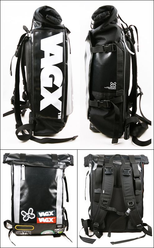 5f462bd9076 VAGX very cool rigid rolltop Day Bag, Cool Backpacks, Rucksack Backpack,  Fashion Backpack