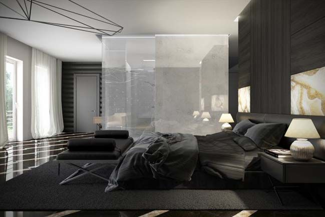 Luxury Master Bedroom Design With Dark Tone Places To Visit Awesome Luxurious Bedroom Minimalist Collection