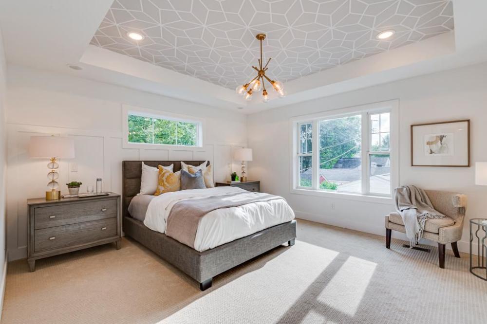 Master Bedroom, recessed lighting, natural light, walk in