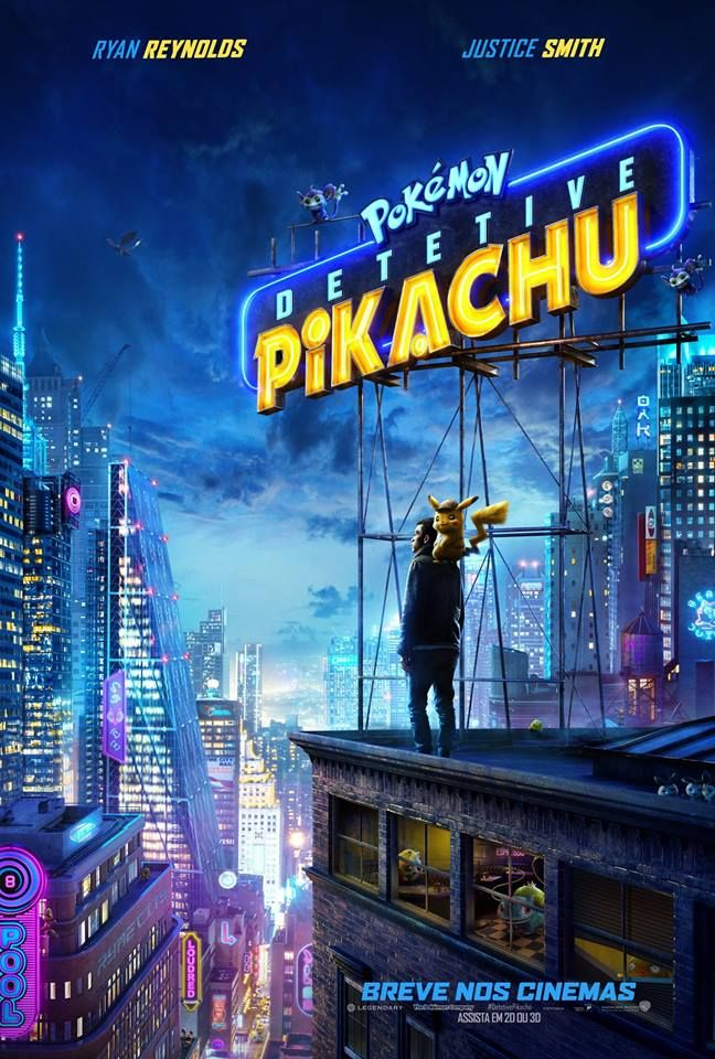 Pokemon Detetive Pikachu Filme Completo Online Legendado