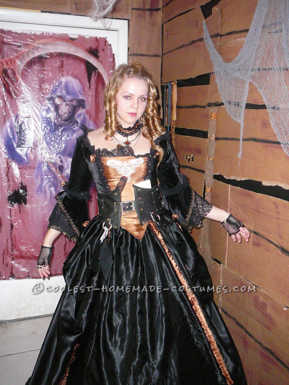 Georgian Style Fantasy Pirate Ball Gown | Costuming | Pinterest ...