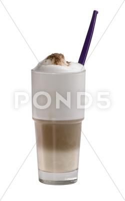 Glass of latte macchiato Stock Photos #AD ,#latte#Glass#macchiato#Photos #lattemacchiato