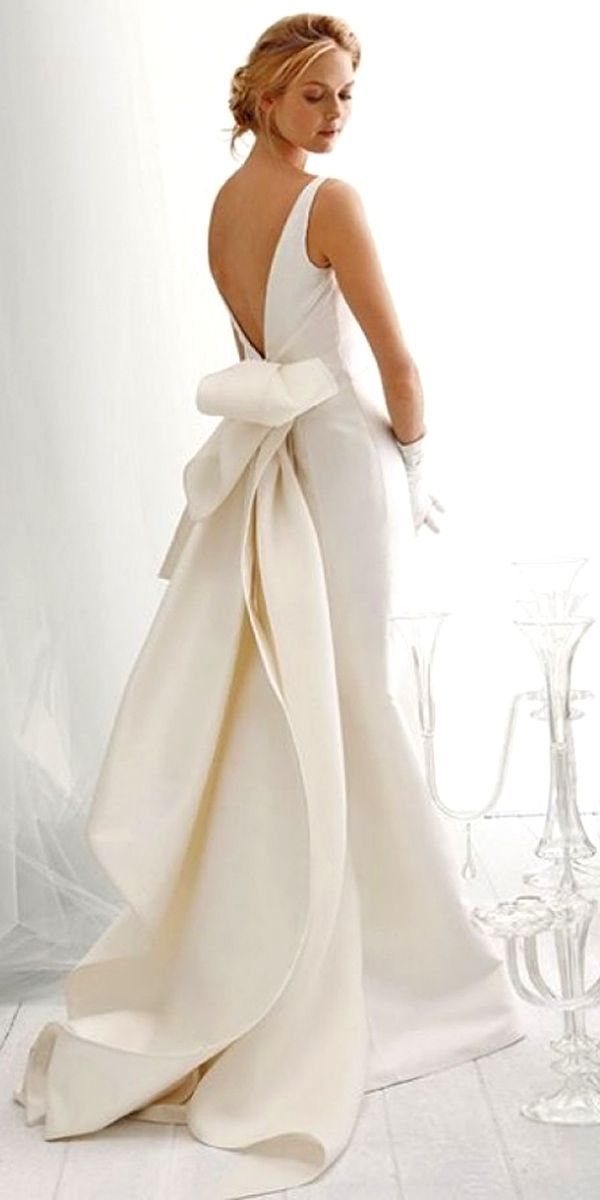 Spring Wedding Dresses With Gorgeous Architectural Details See More Weddingforward Weddings