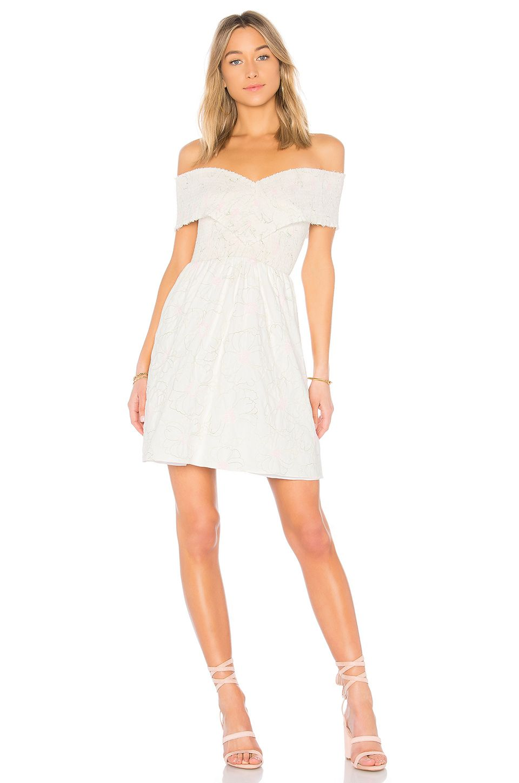 Endless Rose Off The Shoulder Dress In Off White Pretty Women Dresses Dresses Women S Fashion Dresses