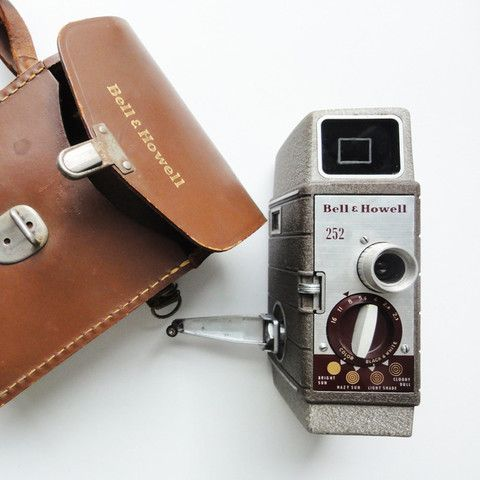 Bell And Howell 252 Montery Movie Camera.  Pip & Estella have some really cool items!
