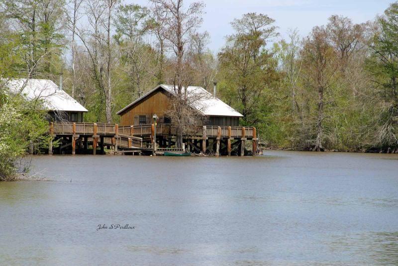 Cabins At Lake Fausse Point Louisiana Gal Louisiana